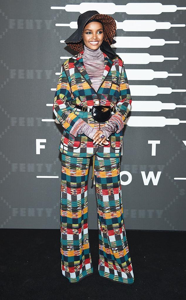 Halima Aden, 2019 New York Fashion Week, Fenty x Savage