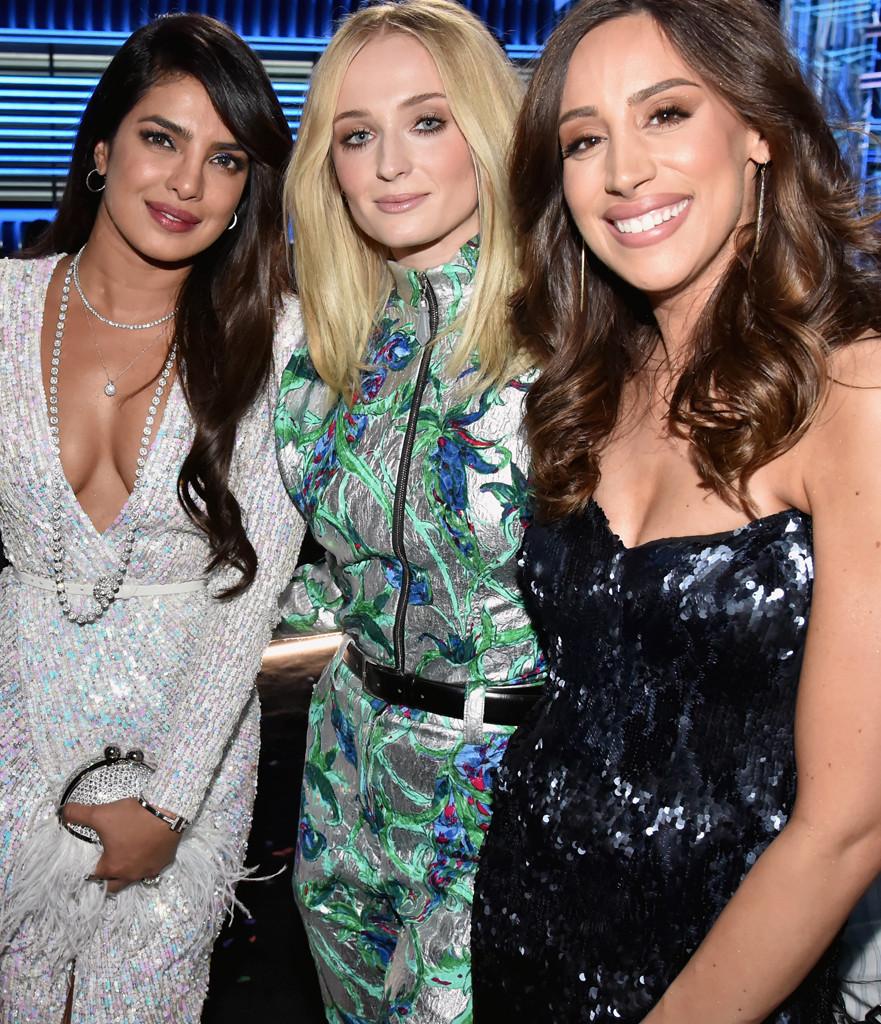 Priyanka Chopra, Sophie Turner, Danielle Jonas