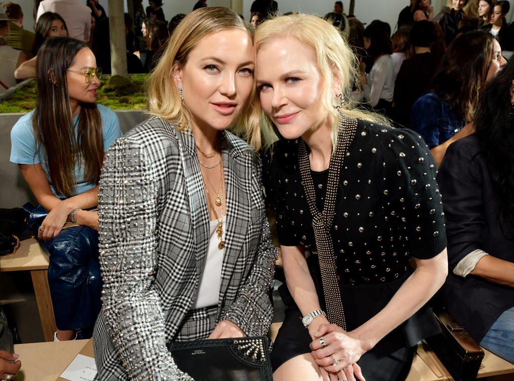 Kate Hudson, Nicole Kidman, Michael Kors Front Row, 2019 New York Fashion Week