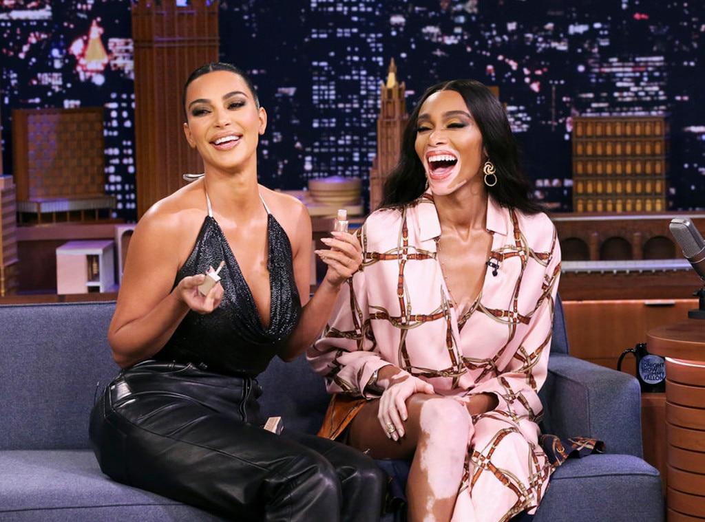 Kim Kardashian, Winnie Harlow