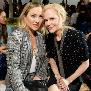 Kate Hudson, Nicole Kidman, Michael Kors Front Row, 2019 New York Fashion Week