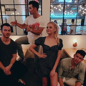 Kelsea Ballerini, Nick Jonas, Kevin Jonas, Joe Jonas, Jonas Brothers