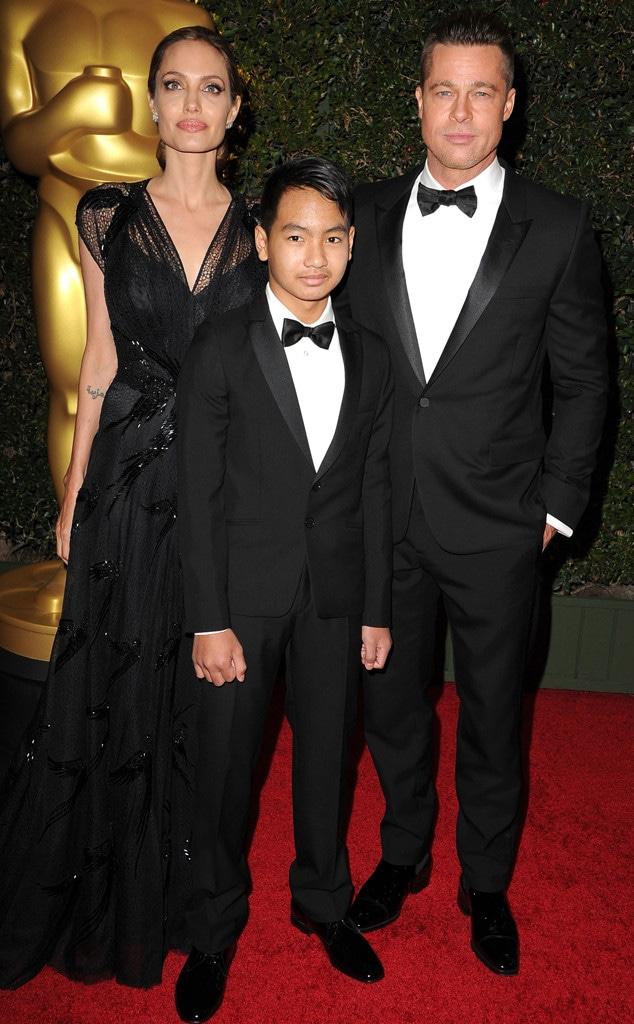 Angelina Jolie's Son Maddox Addresses Relationship With Brad Pitt - E!  Online