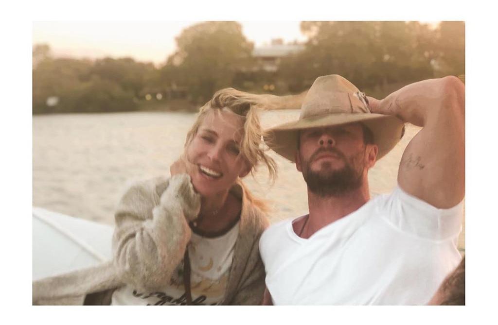 Chris Hemsworth, Elsa Pataky, Australia Vacation