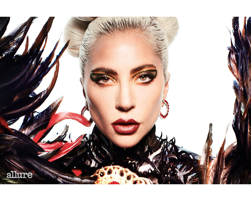 Lady Gaga, Allure, October 2019