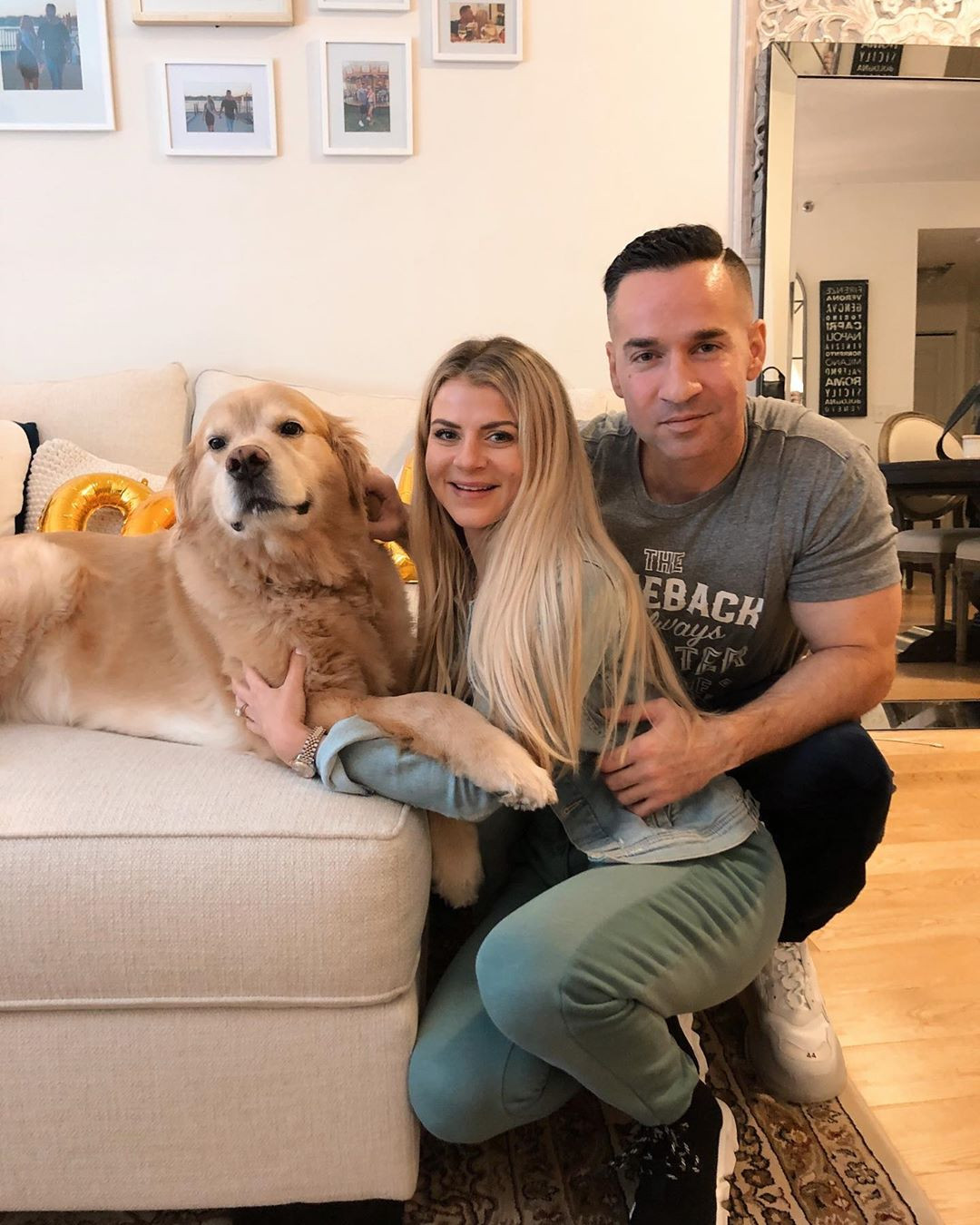 "Mike ""The Situation"" Sorrentino, Lauren Sorrentino"