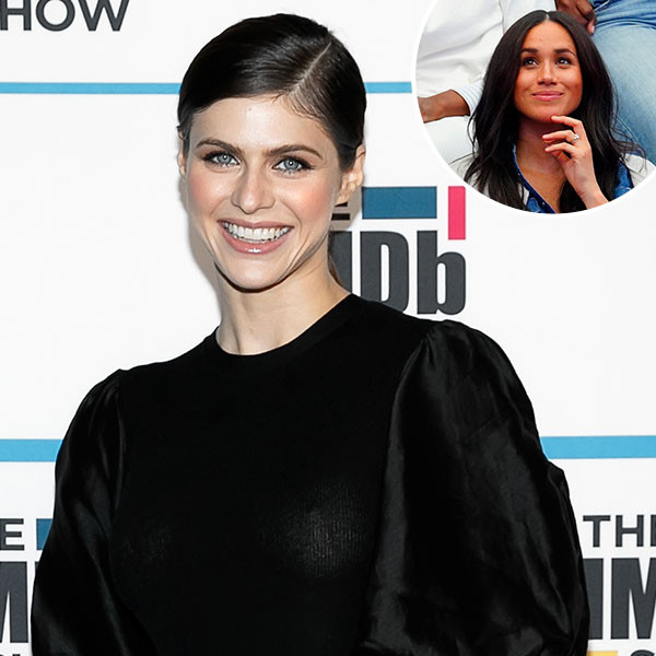 Meghan Markle Made Alexandra Daddario's Favorite Workout Harder
