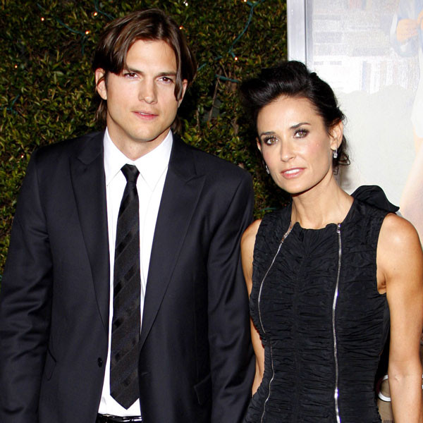 Ashton Kutcher Reveals Where His Relationship Stands With Ex Demi Moore And Her Daughters