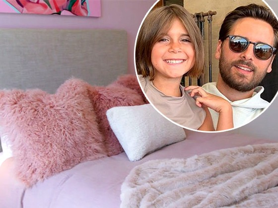 Scott Disick Gives Penelope's Room a $20,000 Redesign: See the Adorable Before & After