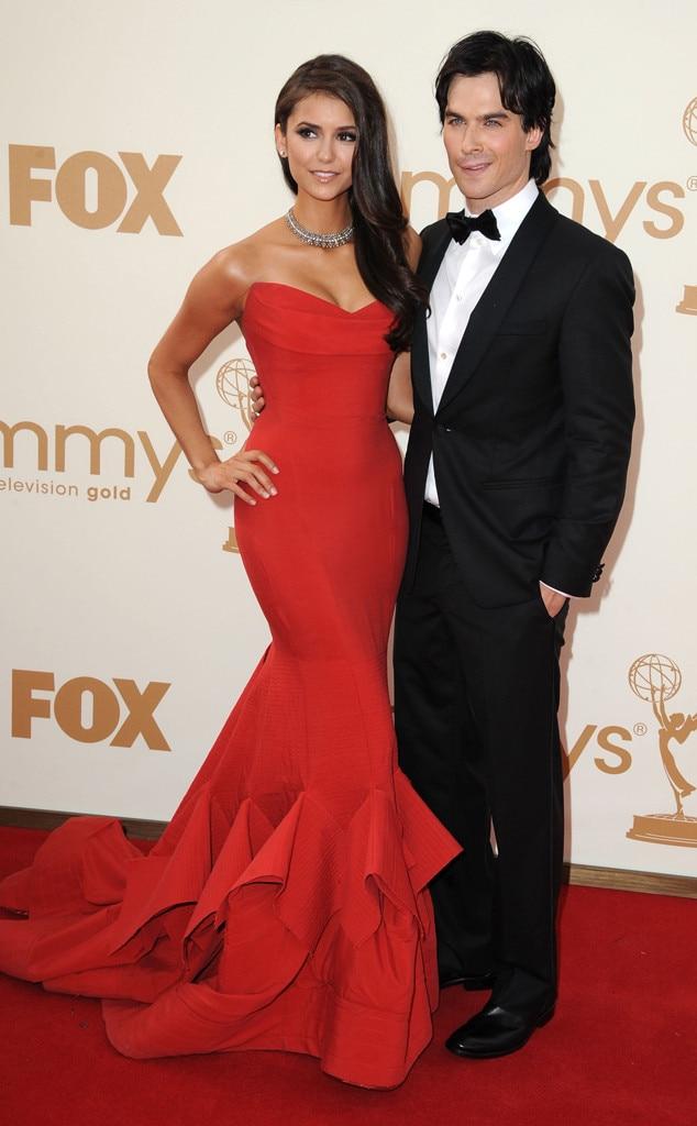 Ian Somerhalder & Nina Dobrev from Emmys Couples We Wish