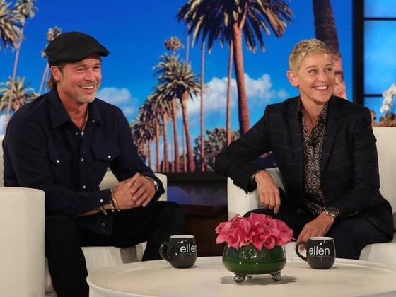 ¡Brad Pitt y Ellen DeGeneres salieron con la misma mujer!