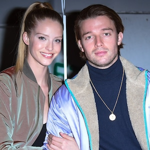 Abby Champion, Patrick Schwarzenegger, John Elliott Show, Celebs at Fashion Week, 2019