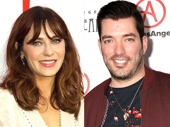Zooey Deschanel Is Dating <i>Property Brother</i> Star Jonathan Scott