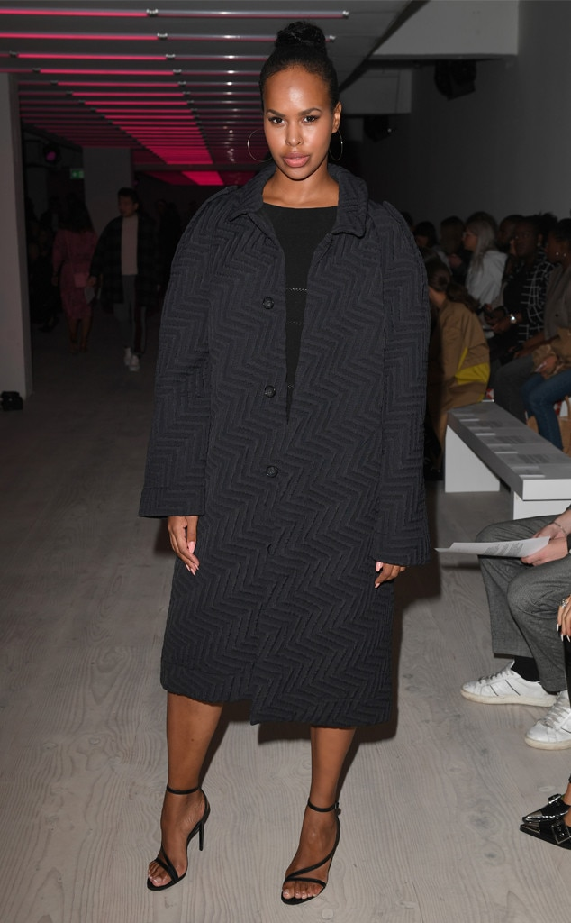 Sabrina Elba, Celebrity Sightings At Fashion Week, 2019 New York Fashion Week
