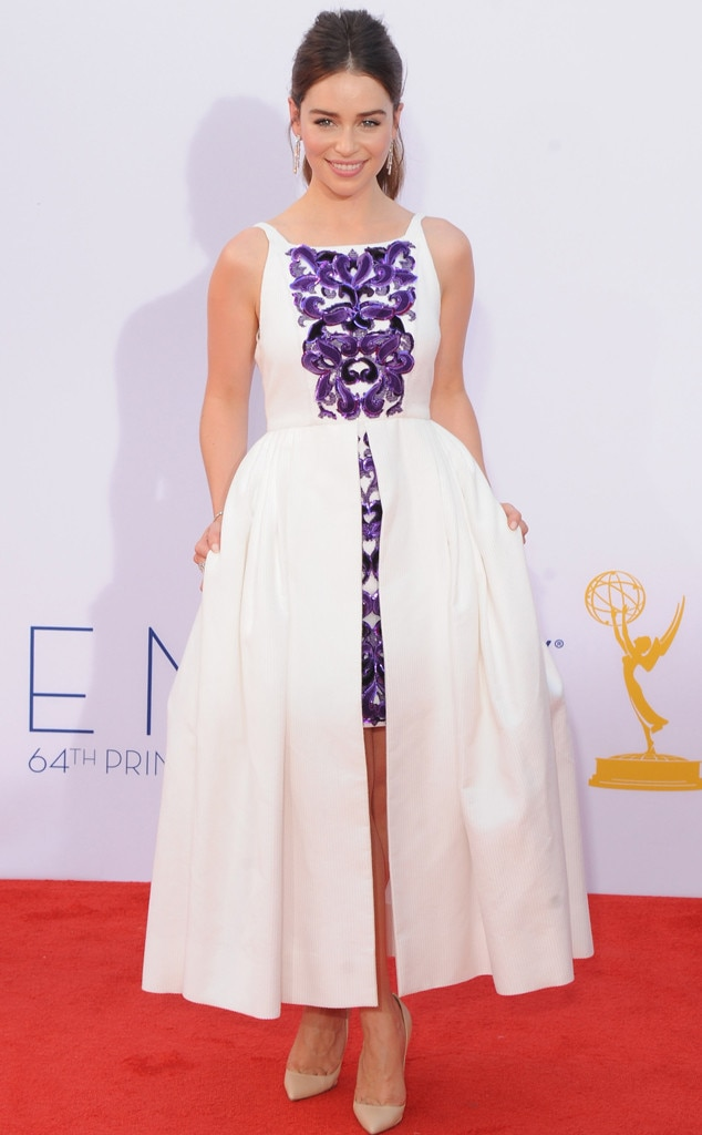 Emilia Clarke - Emmy nominees at 1st Emmys