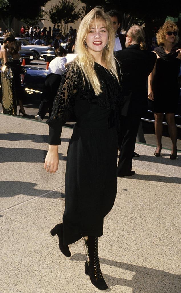 Christina Applegate  - Emmy nominees at 1st Emmys