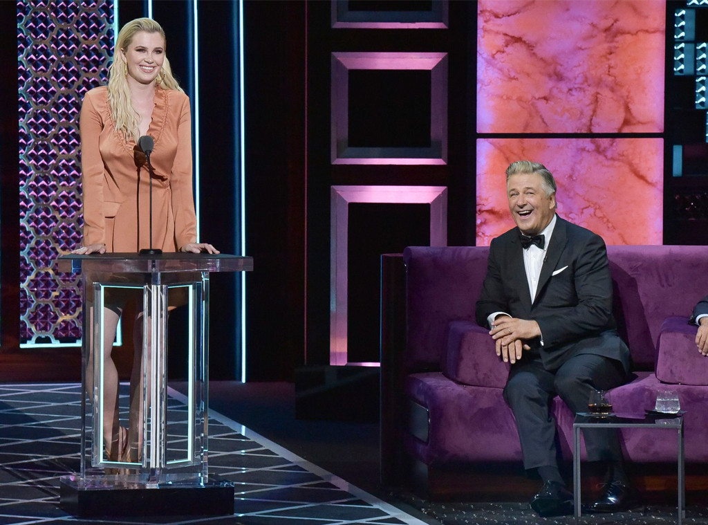 Ireland Baldwin, Alec Baldwin, Comedy Central Roast of Alec Baldwin