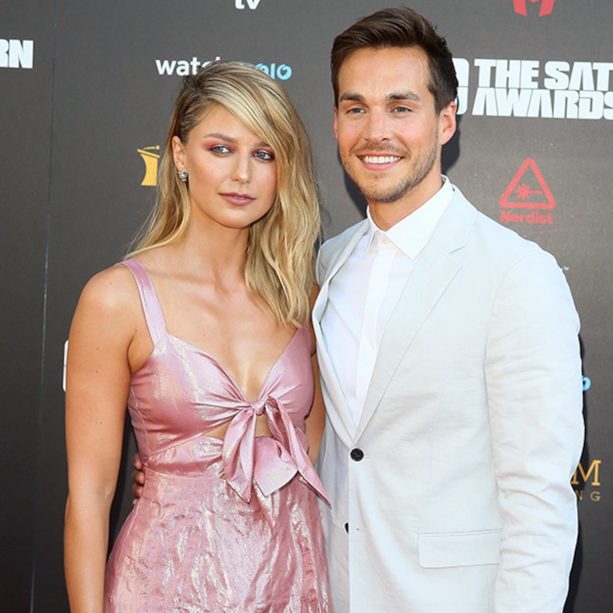 Melissa Benoist and Chris Wood Step Out After Wedding - E! Online