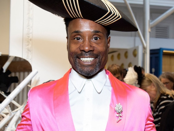 Billy Porter Makes London Fashion Week <i>His</i> Runway With 4 Outfit Changes in One Day