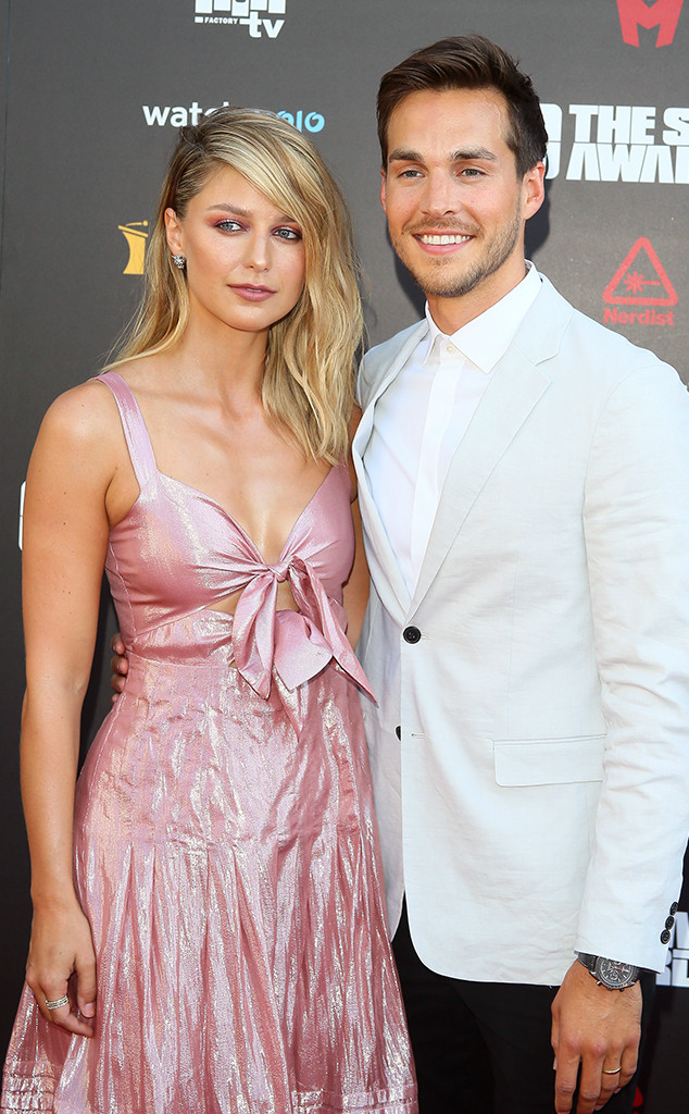 Melissa Benoist And Chris Wood Step Out After Wedding E Online