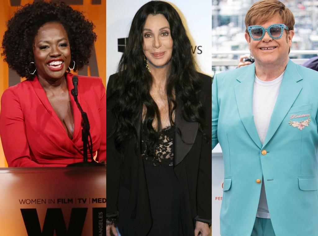 Viola Davis, Cher, Elton John