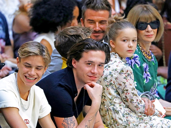 Here's Proof Victoria's Beckham's Kids Are Her Biggest Fans During Her Fashion Show