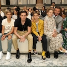 La familia de Victoria Beckham en sus fashion shows