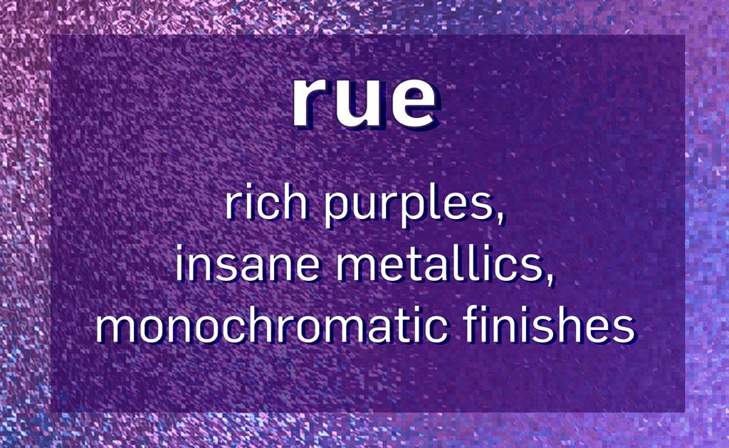 E-Comm: Euphoria Makeup, Rue