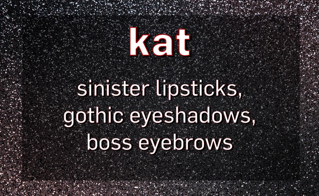 E-Comm: Euphoria Makeup, Kat