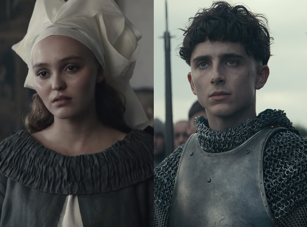 Lily-Rose Depp,Timothee Chalamet, The King