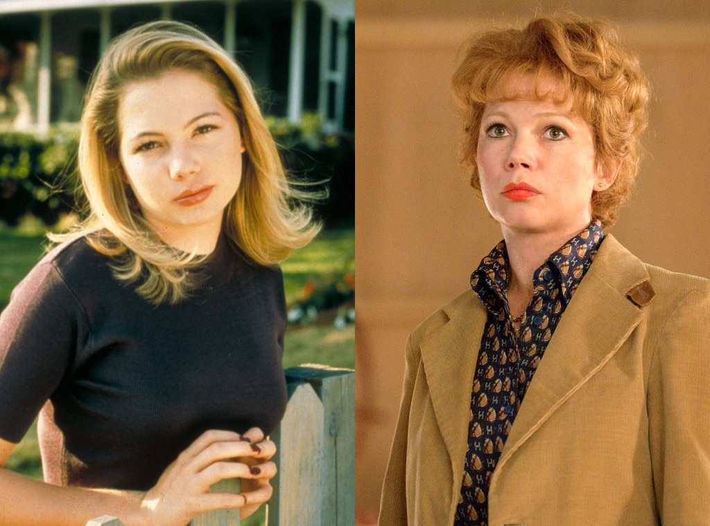 These Former Child Stars Are Now Nominated for Emmy Awards, Michelle Williams, Dawson's Creek, Fosse Verdon
