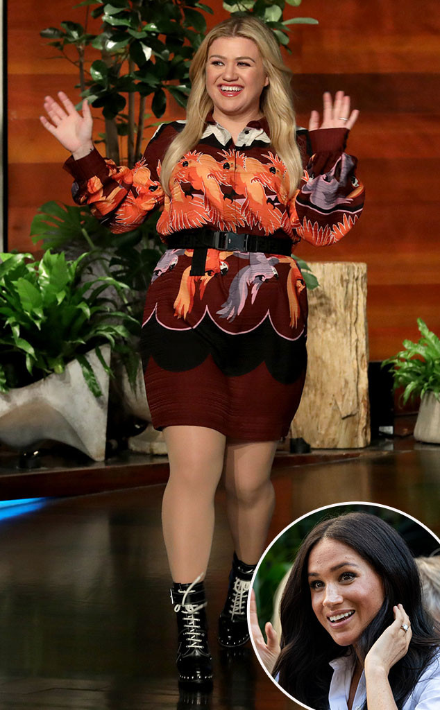 Kelly Clarkson, Meghan Markle