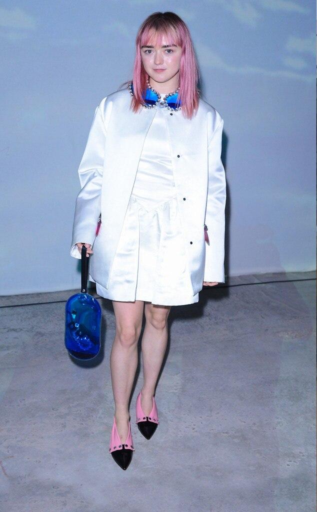 Maisie Williams, 2109 London fashion week, Fashion Police Widget