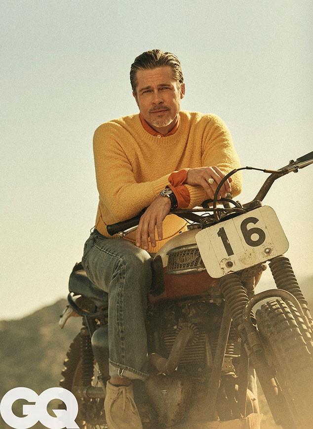 Brad Pitt, GQ, October 2019
