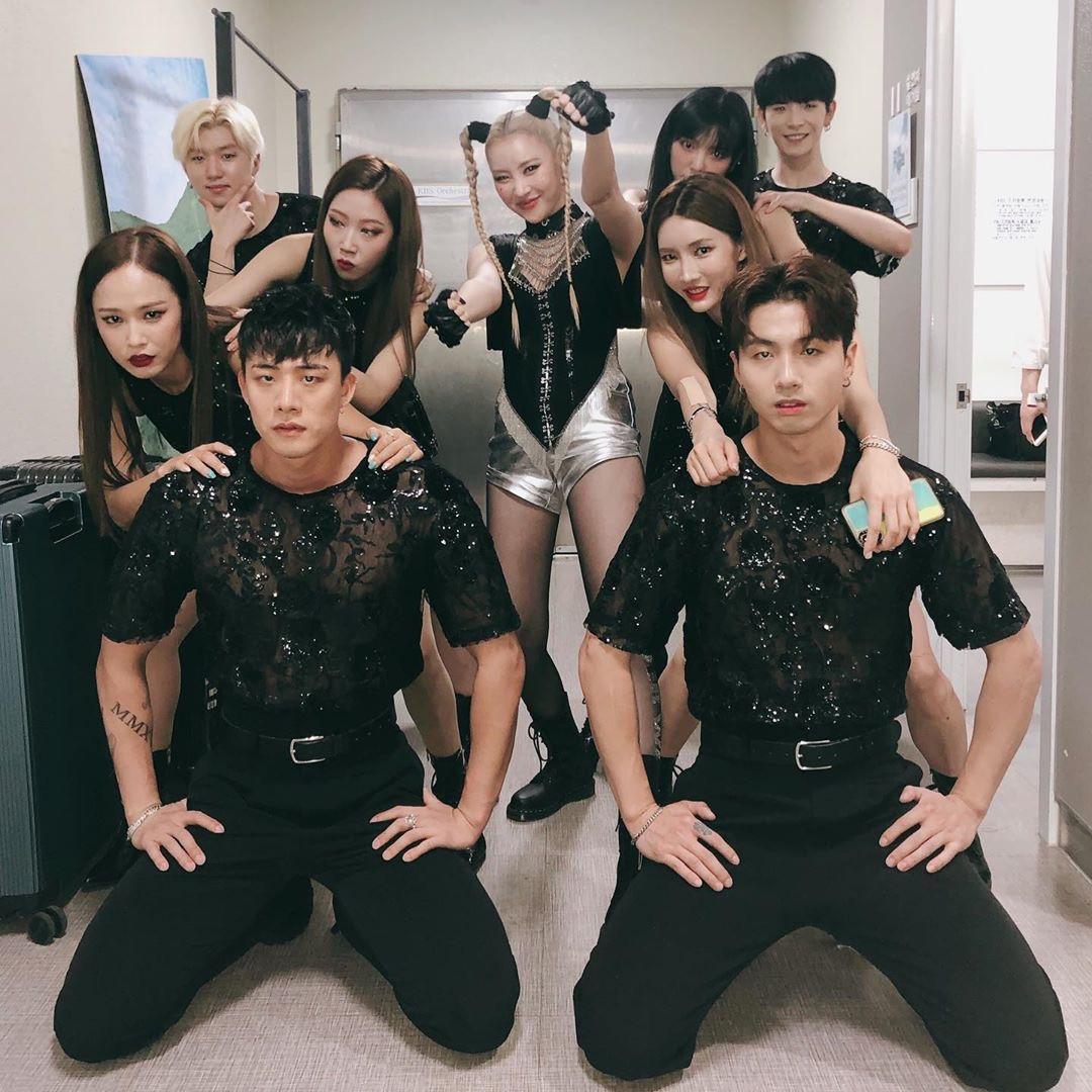 Cha Hyunseung, Hottest K-Pop Backup Dancers
