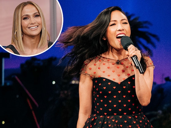 Constance Wu Has Been Waiting For This Night to Show Off Her Jennifer Lopez Impersonation