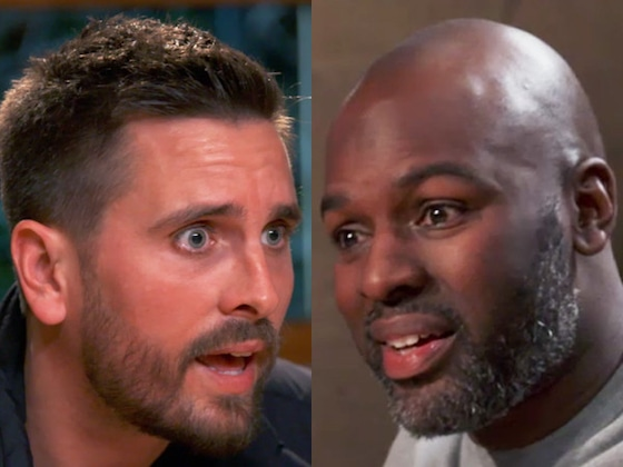 "See Scott Disick Explode at Corey Gamble for Saying He'd ""Whip"" Penelope's Butt"