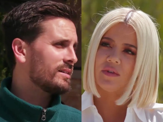 Khloe Kardashian Gives Scott Disick a Pep Talk Amid Jed Smith Remodel Drama