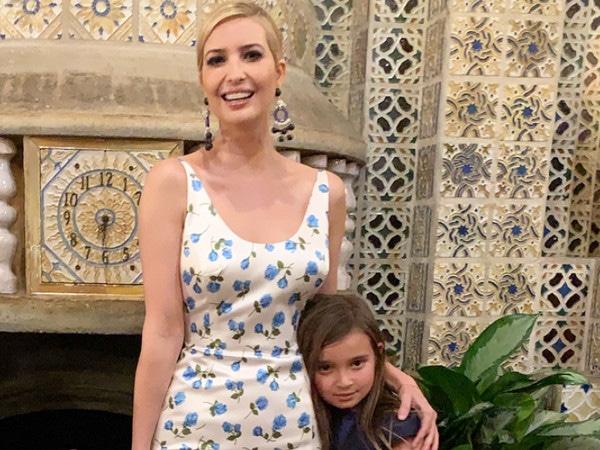 Ivanka Trump's Daughter Arabella Suffers Head Injury After ''Hard'' Fall