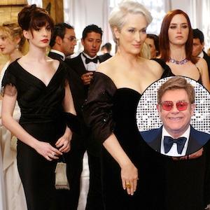 The Devil Wears Prada, Elton John