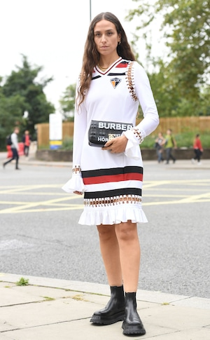 2019 London fashion week, street style