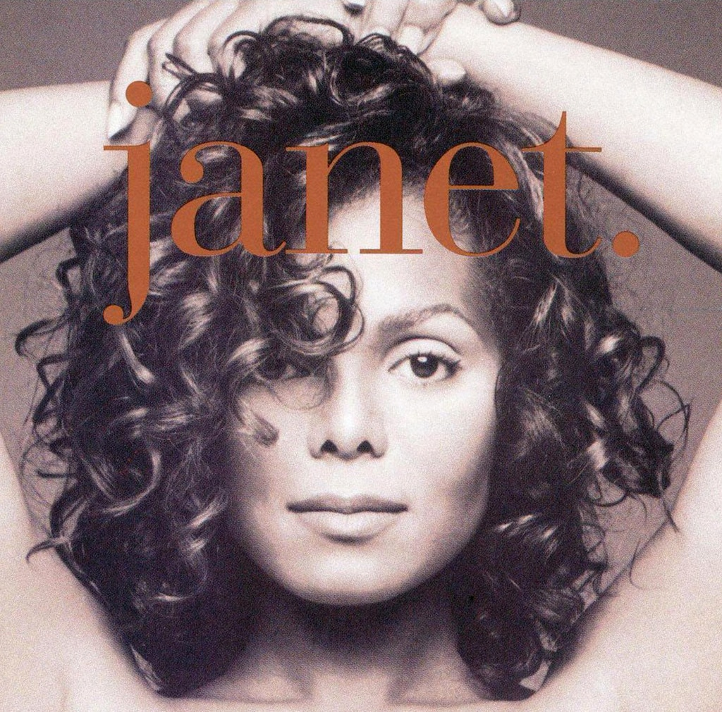Janet Jackson, Janet, album cover, 1993