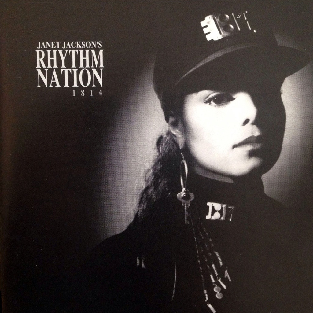 Janet Jackson, Rhythm Nation, album cover, 1989