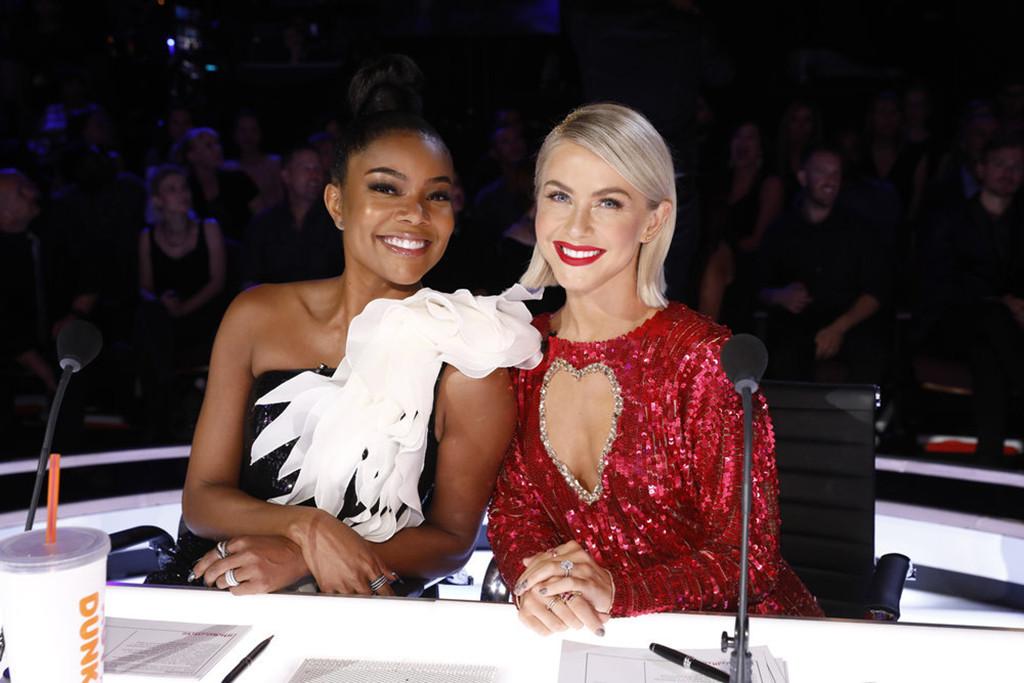 America's Got Talent, Julianne Hough, Gabrielle Union