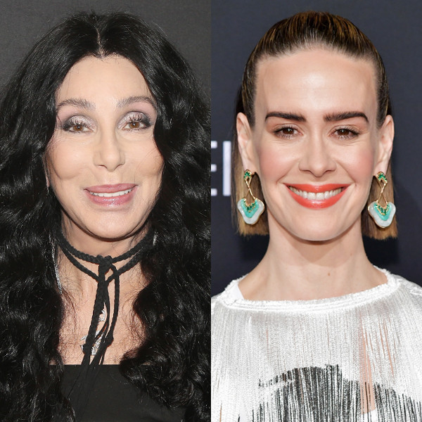 Sarah Paulson Totally Fangirled After Cher Touched Her Hand at the Met Gala