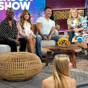 Randy Jackson, Paula Abdul, Simon Cowell, Kelly Clarkson
