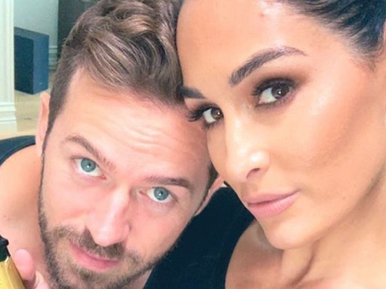 Nikki Bella Puts Artem Chigvintsev in the Hot Seat When Talking Baby Plans