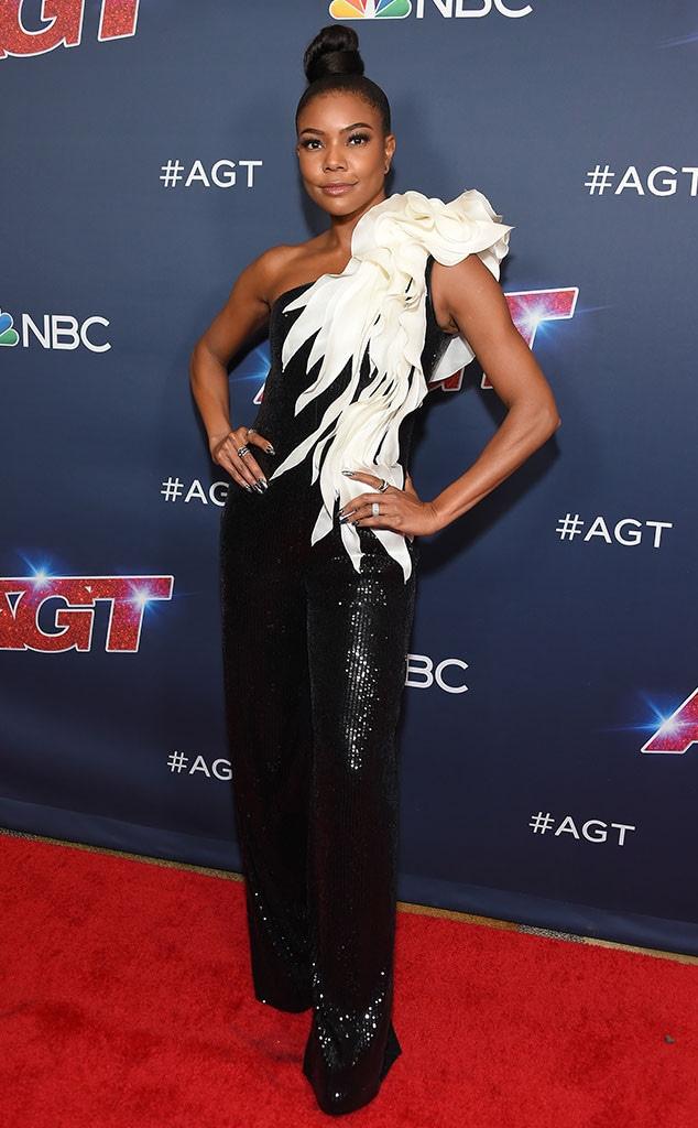 Gabrielle Union, Fashion Police Widget
