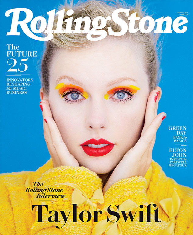 Taylor Swift, Rolling Stone, October 2019