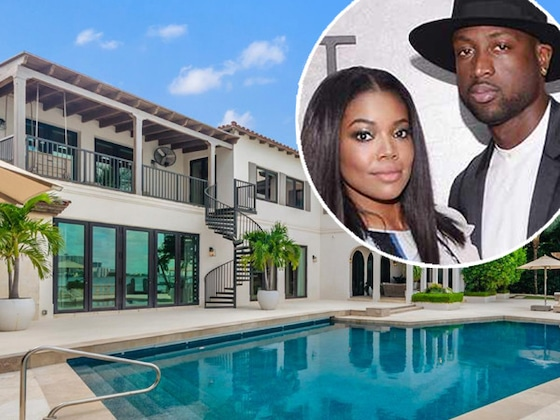 Go Inside Dwyane Wade and Gabrielle Union's $32.5 Million Miami Beach Mansion